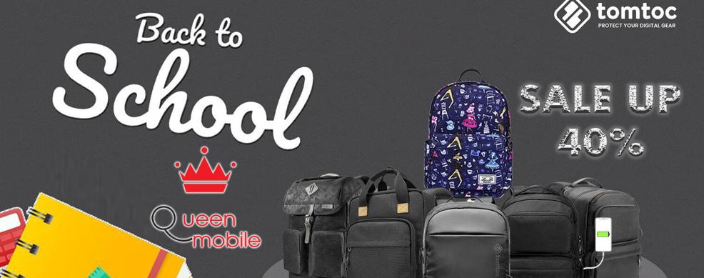 Sale BACK TO SCHOOL: Giảm giá balô và túi xách đến 40%
