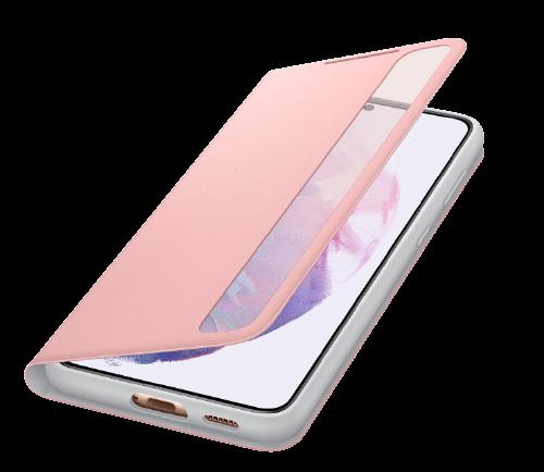 Bao da Bao da Clear View Samsung Galaxy S21 Plus – Chính hãng nguyên seal